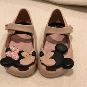 Mini Melissa Mickey Shoes